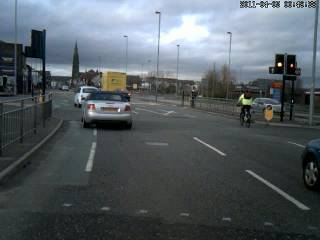 Blackburn Road/Halliwell Road junction
